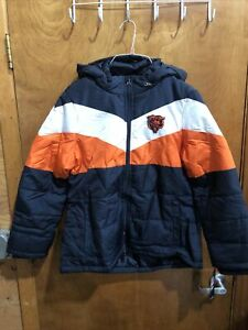 GIII OFFICIALLY LICENSED NFL Chicago Bears Jacket Womens XL