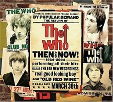 THE WHO - THEN AND NOW HITS Original Audio Music CD Brand New UK Release