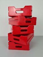 Schublade Einschub Flugzeugtrolley Atlas Rot Red Drawer Cajón Rojo Tiroir