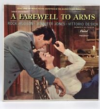 A Farewell To Arms & The Old Man And The Sea LP'S -Hemmingway Rock Hudson