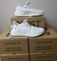 Adidas Yeezy Boost 350 v2 Triple White Size 8 UK BNIB Genuine Authentic Mens...