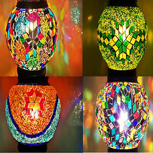 Turkish Handmade SHADE Moroccan Colourful Lamp Light GLASS REPLACEMENT ONLY