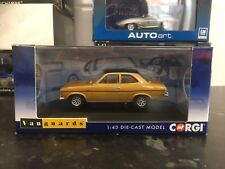 Vanguards Ford Escort MK1 1300E Amber Gold 1/43 MIB Ltd Ed VA09518