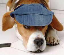Karlie Doggy Cap Jeans XS Hunde Mütze Sonnenschutz für kleine - mittelgr. Hunde