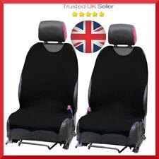 2 x Car Seat Covers Protezioni Per BMW 1 2 3 5 X5 x 2 Nero