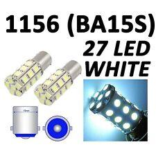 #1156 27SMD White LED 12V Park Parking Back Up Tail Light Turn Signal Lamp Bulbs