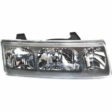 For Saturn Vue 05, Passenger Side Headlight, Clear Lens; Chrome Interior