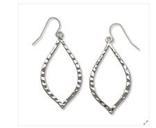 Premier Designs Jewelry Silver Essence Earrings  Fishhook # 31123