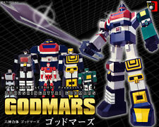 EVOLUTION TOY Dynamite Action No. 13 Six God Combination Godmars