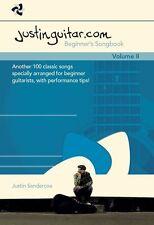 Justinguitar.com Beginner's Songbook Learn to Play Easy GUITAR Music Book Vol 2