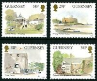 GUERNSEY 1986 GUERNSEY MUSEUM SET OF ALL 4 COMMEMORATIVE STAMPS MNH (a)