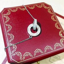 Authentic Cartier Love 18K white gold necklace