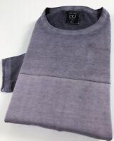 Calvin Klein CKJ Crew Neck Jumper Men's Indigo Blue Pullover Sweater