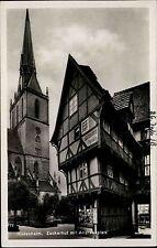 Hildesheim Niedersachsen 1938 Zuckerhut Andreasplatz Turm Buchbinderei Fachwerk