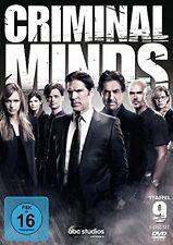 CRIMINAL MINDS DIE KOMPLETTE NEUNTE DVD SEASON / STAFFEL  9 DEUTSCH