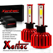 Xentec 120W 12800lm LED White Light Headlight Kit 9004/HB1 High Low HID 6000K