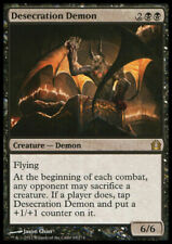 Desecration Demon NM/SP Return to Ravnica MTG Magic the Gathering Black Eng Card
