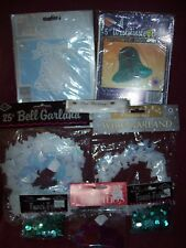 Wedding Party Decorations Supplies - Bells, Garland, Confetti And Ribbon - New