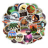 50Pcs Outdoor Campin Stickers For Scrapbooking Album Laptop Luggage Notebook