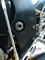Suzuki GSX1300BK B-King 2007-16 Forcellone Perno Dado Flangiato Titanio M20X1.5
