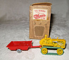 Benbros Qualitoy TV Series #19 Tractor and Farm Trailer TV4 Box Variation