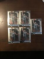 2018-19 Panini Prizm Kevin Durant #252 Lot (5) Warriors Nets