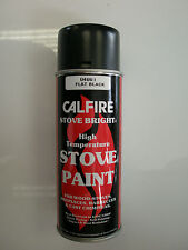 Calfire Heat Proof Stove Paint for Wood Burning Stoves - BLACK