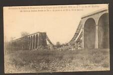 DANNEMARIE (68) VIADUC , PONT FERROVIAIRE détruit en 1914