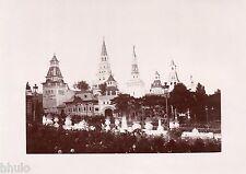 A413 Photo Citrate Original Expo Universelle Paris 1900 Pavillon Asie Russe