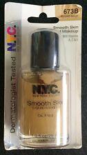 NYC Smooth Skin Liquid Makeup - Spiced Beige 673B