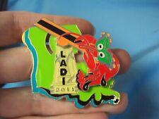 Louisiana Destination Imagination Ladi mardi gras oil La state 2011 pin tac pin