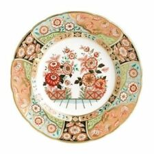 """New Royal Crown Derby 1st Quality Imari Accent 8"""" Plate - Regency Flowers"""