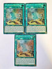 3x Dragonische Darstellung MP18-DE015 Secret 1 Auflage YU-GI-OH Karten Playset