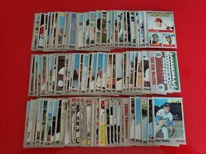 1970 Topps Baseball Partial Complete Set Lot (101/720) Cards VG-EX SEMI HI# Rose