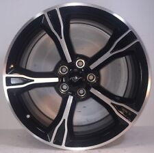 """SET OF 4 FORD MUSTANG 19x8.5, 5X4.5"""", MCH/BLK +42.5 OFFSET GR3J1007CA 10081"""
