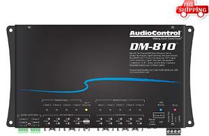 AUDIOCONTROL DM-810 8 channel Digital Signal Processor Ultimate EQ FREE SHIPPING