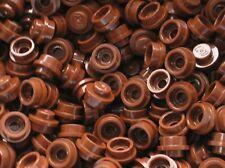 25 x LEGO RedBrown round plate ref 4073 / set 10193 10144 10182 10185 4957 5525