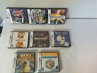 EMPTY Nintendo DS Cases Lot of 8 All Cases Have Manuals. No Game Cartridges