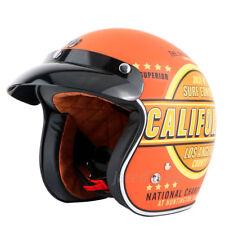 TORC T50 Open Face Retro Motorcycle Helmet Motocross Scooter Vintage Helmets DOT