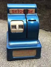 Vintage Marx 3 coin register bank