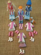 Polly Pocket Dolls Winter Snow Set Clothes Skiing Ski Lot Outfits  3-74