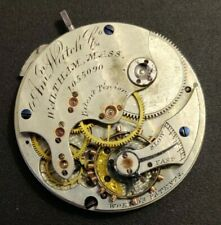 1878 American Watch Co Waltham Size 8 Model 1873 Movement Balance Ok