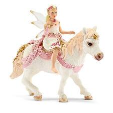 Schleich  70501 Lilienzarte Elfe , reitend auf Pony Neuheit 2015 !