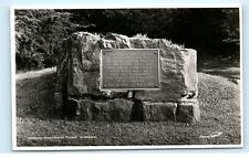 *American Remembrance Plaque Harrogate Yorkshire Uk Wwii Vintage Postcard C84