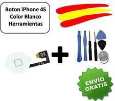 BOTON HOME FLEX IPHONE 4S BLANCO CON KIT HERRAMIENTAS.DESDE ESPAÑA