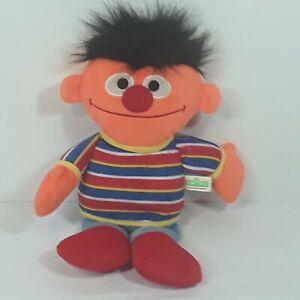 Sesame Street Mini Plush Ernie Doll 10-inch Ernie Toy 2013 preowned