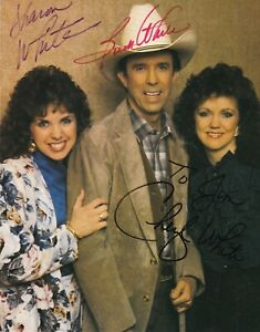The Whites (County music singing group)  Signed photo