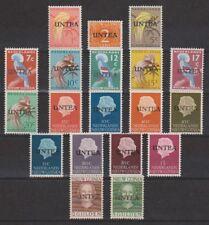 Indonesia Nederlands Nieuw Guinea 1-19 MNH UNTEA 1962 NOW ALL STAMPS NEW GUINEA