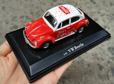 COCA COLA 1:43 1966 VW VOLKSWAGEN BETTLE (RED) DIECAST MODEL 400300