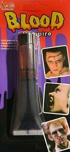 FAKE BLOOD HALOWEEN Makeup 30ML - Bloody nurse Zombie Vampire Wound Scar Horror